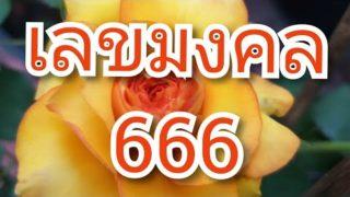เลข 666 เลขตอง เลขมงคล เลขคนที่เกิดประจำวันที่ 6 เลขวันศุกร์ มีเสน่ห์ เลขรายจ่าย